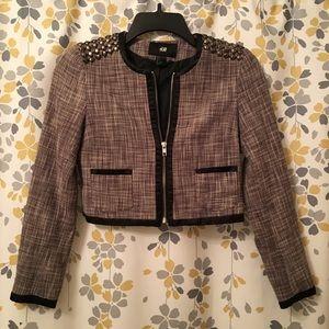 H&M Tweed Studded Jacket